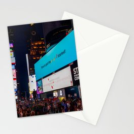 Iconic Time Square Stationery Cards