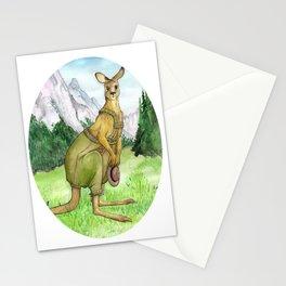 Austrian Kangaroo Stationery Cards