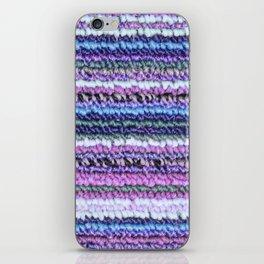 Lilac Blue Carpet iPhone Skin