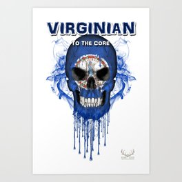 To The Core Collection: Virginia Art Print