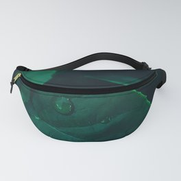 Leaves and waterdrops Fanny Pack