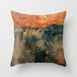 Panelscape Iconic - The Scream Throw Pillow
