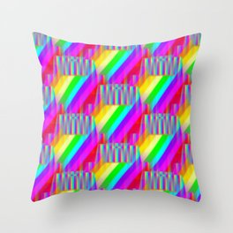Capers by colors ... Throw Pillow