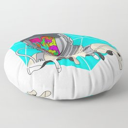 Psychonaut - Light Floor Pillow