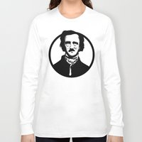 poe Long Sleeve T-shirts featuring Poe by Zombie Rust