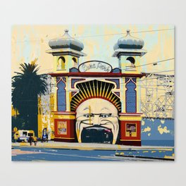 Luna Park in St.Kilda Canvas Print