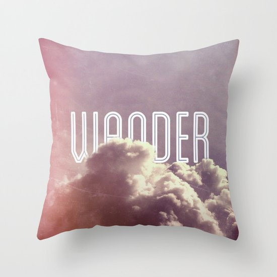Wander (square) Throw Pillow