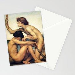 Evelyn De Morgan - Phosphorus and Hesperus Stationery Cards