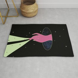 You Magnify the Universe Rug