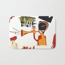 Basquiat Trompette Bath Mat