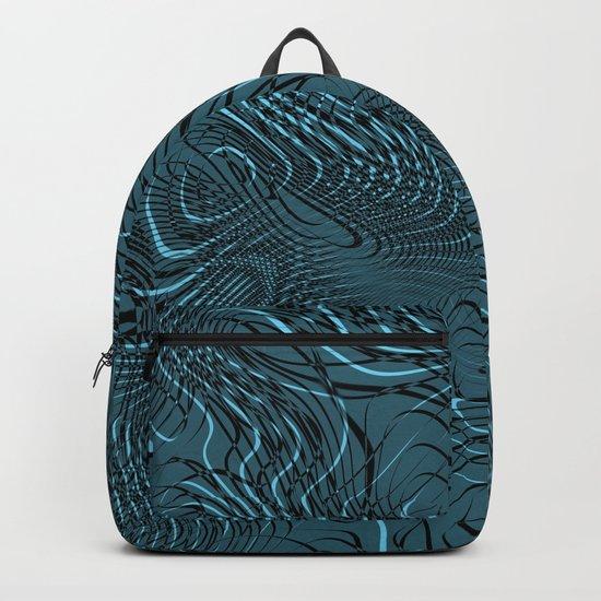 Just Crazy Blue Backpack