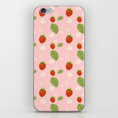 Strawberry Plant iPhone & iPod Skin