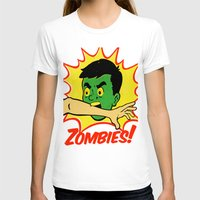 zombies T-shirts featuring Zombies! by Derek Eads