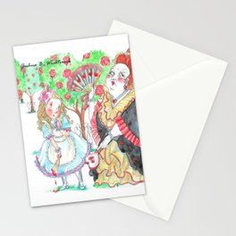 Alice's Adventures In Wonderland: Queen Of Hearts Stationery Cards