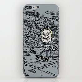 Manual pad iPhone Skin