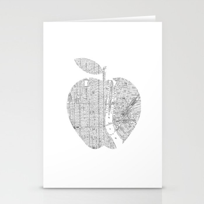 New York City Big Apple Poster Black And White I Heart Love NYC Home Decor