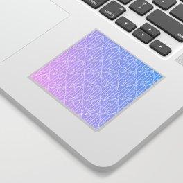 Crystal Pattern Sticker