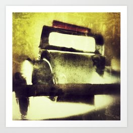 A frenchcar named deudeuche Art Print
