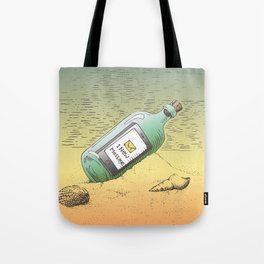 New Message Tote Bag