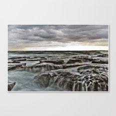 Stormy sea's Canvas Print