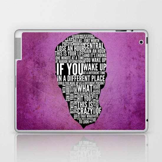 Typography Narrator Laptop & iPad Skin