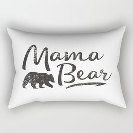 Mama Bear #society6 Rectangular Pillow