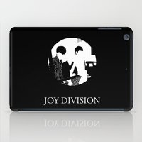 joy division iPad Cases featuring JOY DIVISION - Music   Goth   Indie   Wave   Retro   Vintage   Vector   Black and White   Vinyl  by Gianluca Lucchese