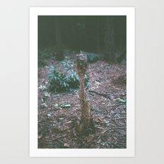 Mini - The fragility of nature Art Print