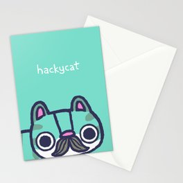 Mustachio Up Close Stationery Cards