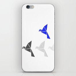 Be Blue Birdie iPhone Skin