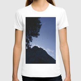 Birds Flying Over Yosemite T-shirt