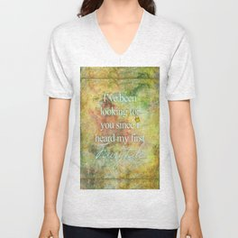I've been Looking for You Fairytale Saying Crown Unisex V-Neck