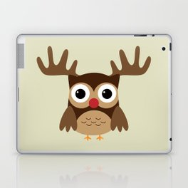 Reindeer Owl Laptop & iPad Skin