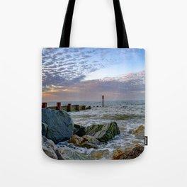 Cart Gap Beach, Norfolk Tote Bag