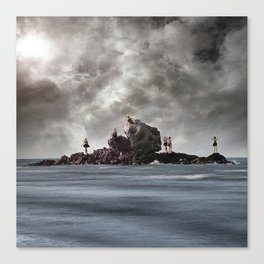 Beware the Sirens Canvas Print