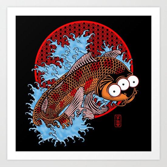Blinky Art Print