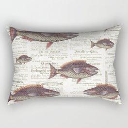 Fishing News Rectangular Pillow
