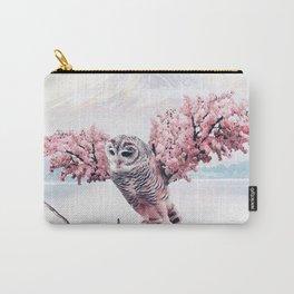 Sakura Owl Carry-All Pouch