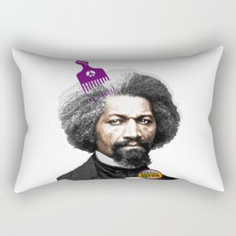 Frederick Douglass Retro Black Lives Matter Rectangular Pillow