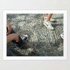 Sneakerville Art Print
