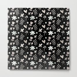 Lovely Pattern ৭ Metal Print