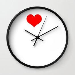 I Love Deep House Wall Clock