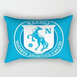 Naples Horse Football badge Rectangular Pillow