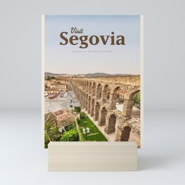 Visit Segovia Mini Art Print