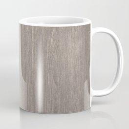 Modern Brown Wood Coffee Mug