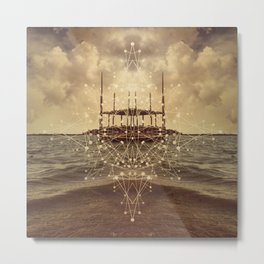 Imagination Island Metal Print
