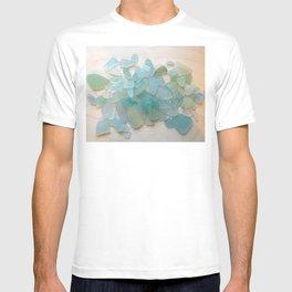 Ocean Hue Sea Glass T-shirt