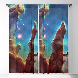 Solar System and Beyond: The Pillars of Creation Blackout Curtain