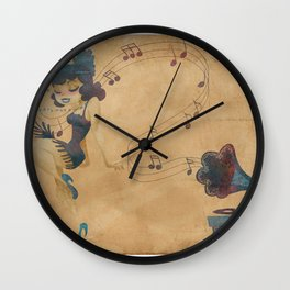 charleston dancer Wall Clock