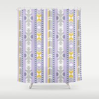 southwest Shower Curtains featuring Southwest by Kara Peters